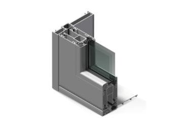 Infissi in alluminio - hx160
