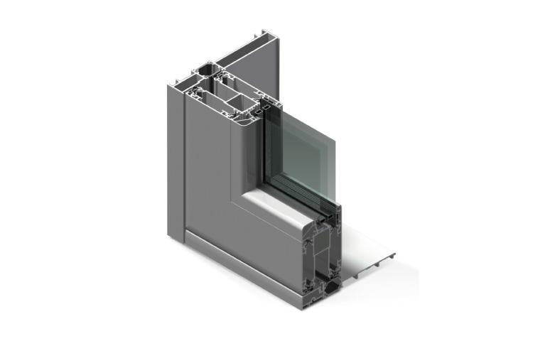 Infissi in alluminio – hx160
