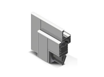 Infissi in alluminio - pc90