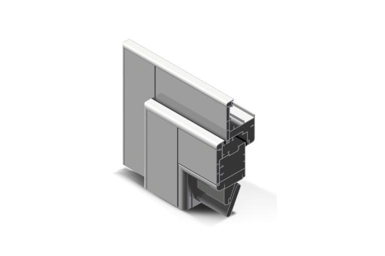 Infissi in alluminio – pc90