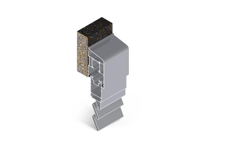 Infissi in alluminio - ps450