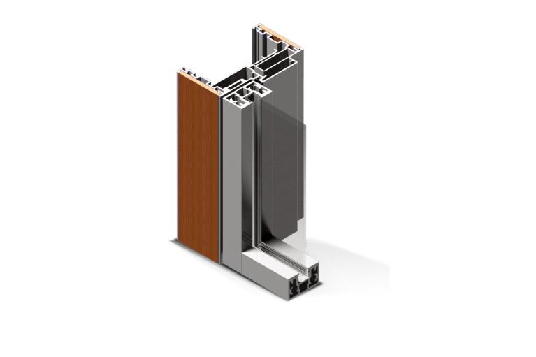 Infissi in alluminio - px450 linear