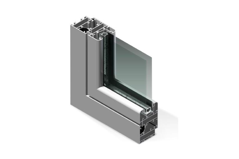 Infissi in alluminio - rx450