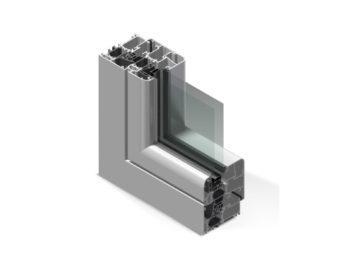 Infissi in alluminio - cx700