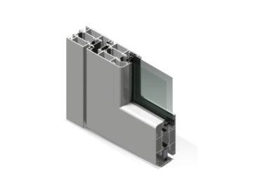 Infissi in alluminio - dx600