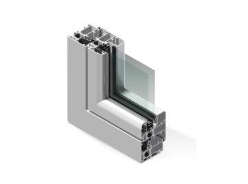 Infissi in alluminio - rx600