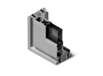 Infissi in alluminio - sx110
