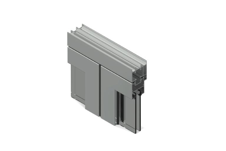 Infissi in alluminio – vl450