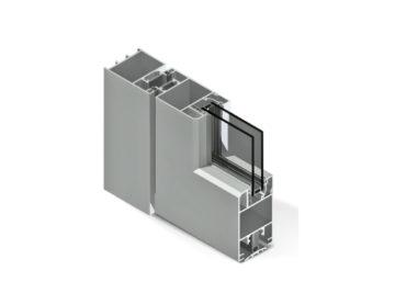 Infissi in alluminio - df600