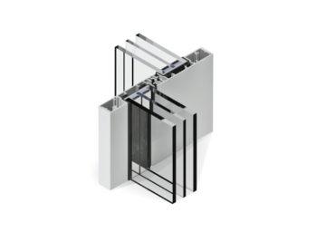 Infissi in alluminio - mx166 minimal