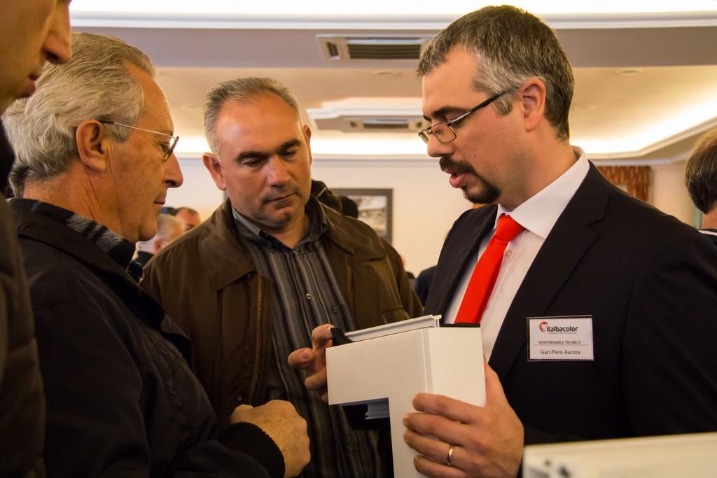 Meeting italbacolor 19 marzo 2016 – Dimostrazione tecnica