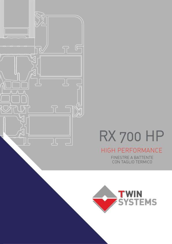 Catalogo tecnico - rx700HP