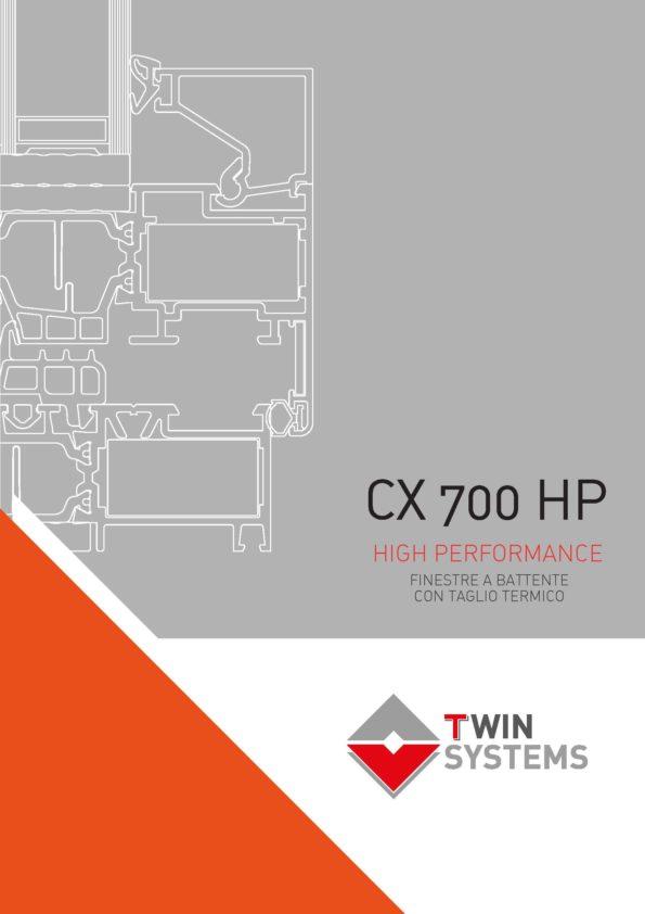 Catalogo tecnico - cx700HP